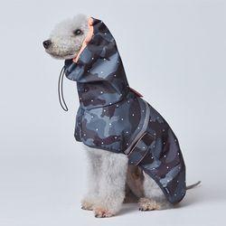 Camo Rain Coat - L 2L 3L Size