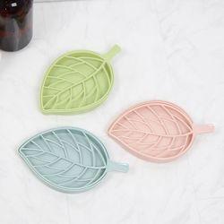 나뭇잎 비누 받침대 - 3color