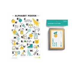 알파벳벽보 단어카드 (poster+card)
