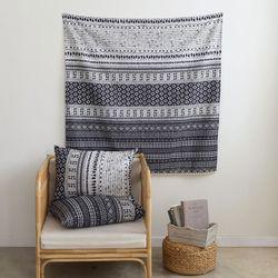 [Fabric] 인디아 에스닉 3in1 컷트지 린넨 India Ethnic  Linen