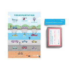 교통벽보 단어카드 (poster+card)