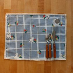 TABLE MAT-Vintage lamb