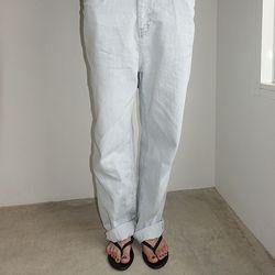 [pants] 와이드 데님 팬츠