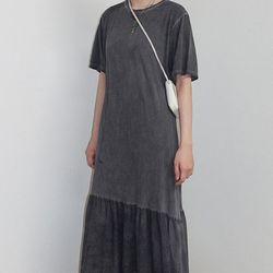 [dress] 러플 포인트 드레스