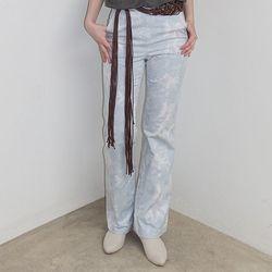 [pants] 타이다이 코튼 팬츠