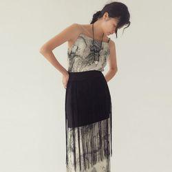 [skirt] 미니 테슬 스커트