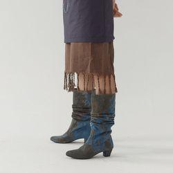 [dress] 테슬 슬리브리스 드레스