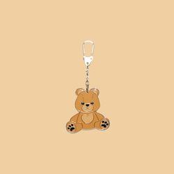 TEDDY BEAR KEYRING