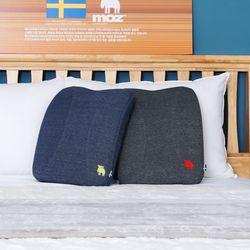 모즈 스웨덴 순면 메모리폼 허리 등받이 등쿠션