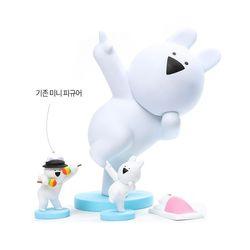 오버액션토끼 10인치 대형피규어-춤추는토끼(손가락)