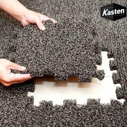 카스텐 프리미엄 퍼즐 코일매트 10P (블랙 그레이 브라운 레드)