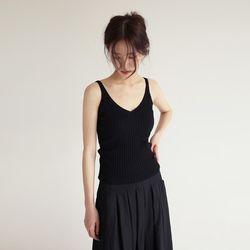 golgi v-neck knit sleevless (3colors)