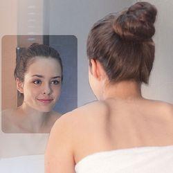 욕실 거울부착 김서림방지 필름 사이즈300x230mm 중형