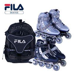 정품 FILA 휠라 피트니스 인라인스케이트+가방세트