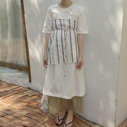 [dress] 에이프런 세트 드레스
