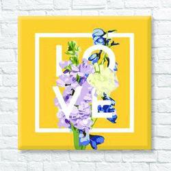 DIY 명화그리기 [ 러블리 꽃다발 ] - 25cm25cm