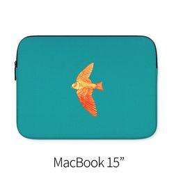 날개 푸른 (노트북 15인치 파우치)