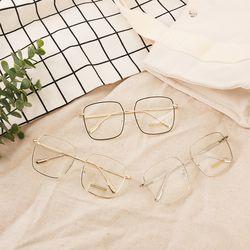 오버사이즈 사각 안경테 3colors(AGGL9803SA)