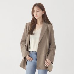 cookie coin ramie jacket