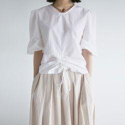 avantgarde shirring blouse (3colors)