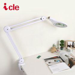 아이클 LED조명확대경 스탠드확대경 ICLE-8066 5배율