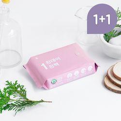 원데이원팩 유기농 생리대 대형 1+ 1 (총10P)