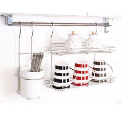 디자인 수저통 선반 3종세트 수저통 선반 걸이대포함