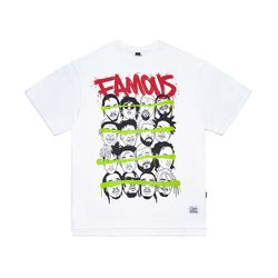 FAMOUS OVERSIZED T-SHIRTS WHITE