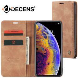 데켄스 M520 아이폰 Caseme 가죽 커버 카드 지갑 케이