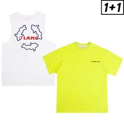 [1+1] ROUNDABOUT SLEEVELESS + LUMINOUS SHORT SLEEVE