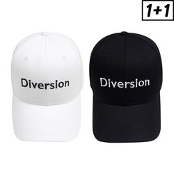 [1+1] DIVERSION BALL CAP + DIVERSION BALL CAP