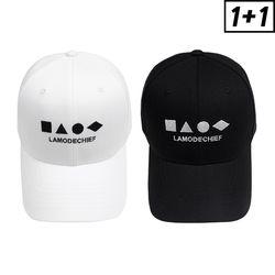 [1+1] SHAPE BALL CAP + SHAPE BALL CAP