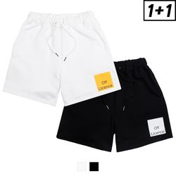 [1+1] OFF LICENCE SHORT PANTS + OFF LICENCE SHORT PANTS