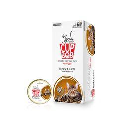 미요미 컵밥 닭가슴살 소고기5가지맛 택1 고양이캔주식캔