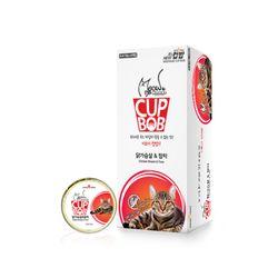미요미 컵밥 닭가슴살 참치5가지맛 택1 고양이캔주식캔