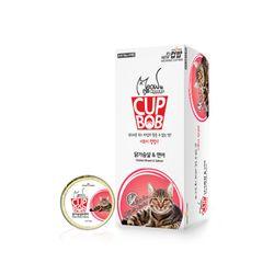 미요미 컵밥 닭가슴살 연어5가지맛 택1 고양이캔주식캔