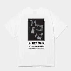 X-ray Art 에드반스 화이트 반팔 (런웨이 product)