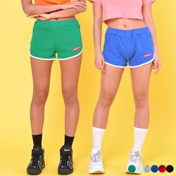 PIPING GYM SHORTS(6color)