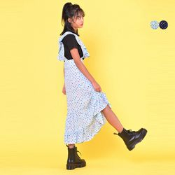 MULTI DOT FLARE DRESS(2color)