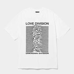 love division 에드반스 화이트 반팔 (런웨이 product)
