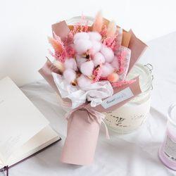라그라스목화꽃다발 32cmP 조화 FMBBFT