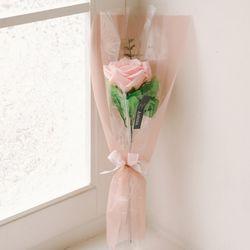 다이애나 한송이 장미비누꽃다발-로즈데이성년의날여자친구선물