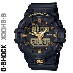 CASIO 지샥 GA-710B-1A9 빅페이스 스탠다드 디지털 흑금 시계