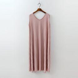 Pleats Long Dress - 민소매