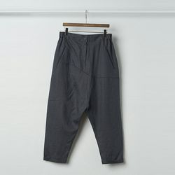 Linen Mom Baggy Pants