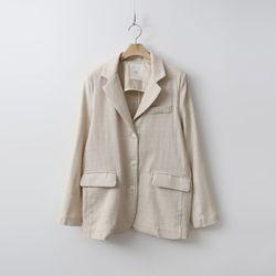 Linen Three Button Jacket