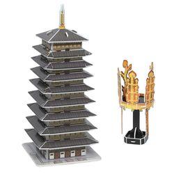 입체퍼즐 신라금관과 황룡사구층목탑