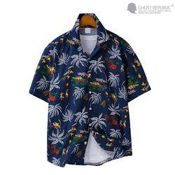 네이티브 하와이안 오버핏 셔츠 MSH-5S23