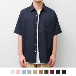 레귤러 카라 오버핏 12 셔츠 (10Color)