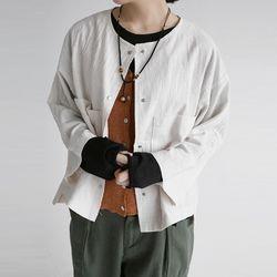 out pocket detail jacket (3colors)